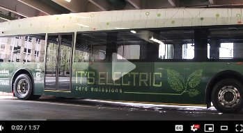 one of the new Proterra electric buses joining the Greenville fleet
