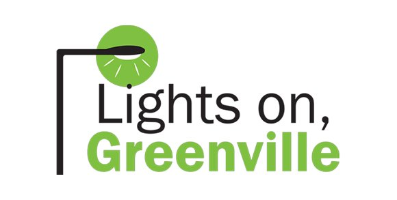 Lights On Greenville logo