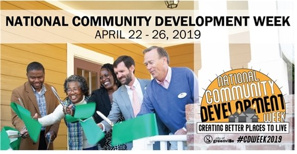 National Community Development Week April 22 - 26, 2019
