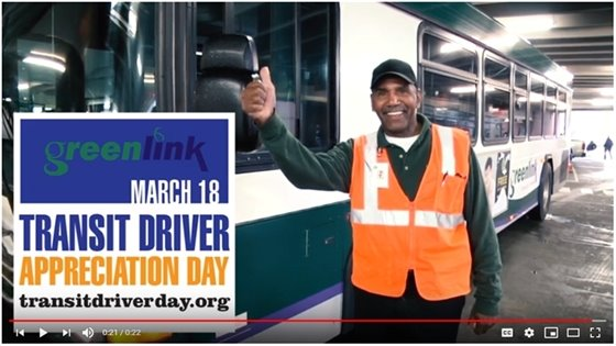 Transit Driver Appreciation Day video