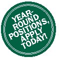 Button that says: Year-Round Positions, Apply Today!