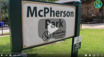 image of McPherson Park entrance sign
