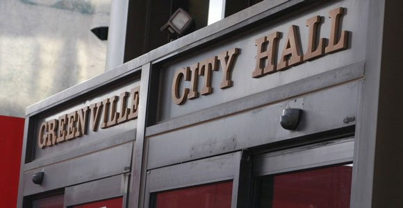 Entrance to City Hall