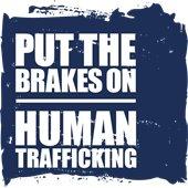 Put the Brakes on Human Trafficking Logo