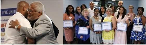 Group photo of Grassroots Leadership graduates