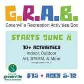 G.R.A.B. Greenville Recreation Activities Box