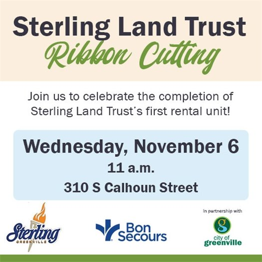 Ribbon Cutting Celebration for Sterling Land Trust's First Affordable Housing Unit 11/6