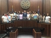 Greenville Dreams visits City Council September Meeting