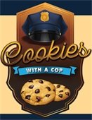 Cookies with a Cop logo