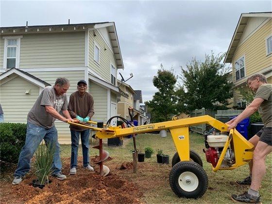 Haynie-Sirrine residents complete 2019 GAP project