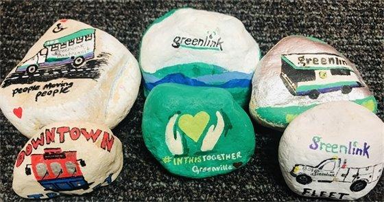Greenlink Painted Rocks