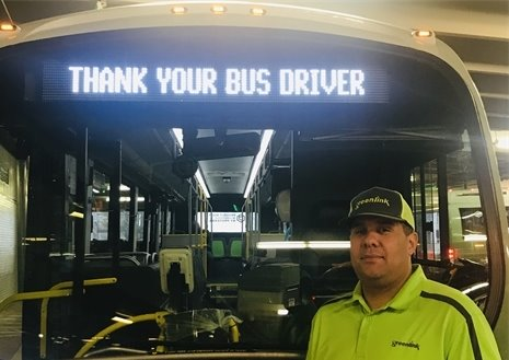 Thank your bus driver