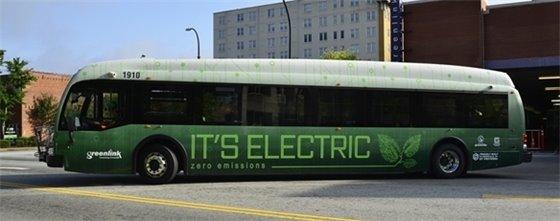 Greenlink Proterra Bus