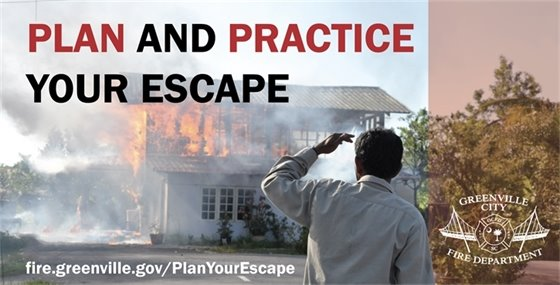 Fire Prevention Week Theme: Plan and Practice Your Escape