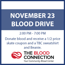 Blood Connection Blood Drive on November 23