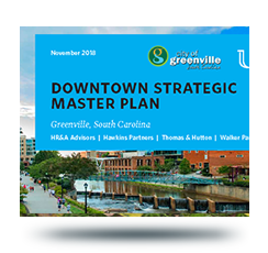 Cover image from the draft downtown master plan