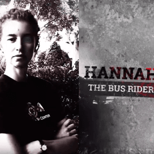 Photo of Hannah, who will ride the bus during the competition