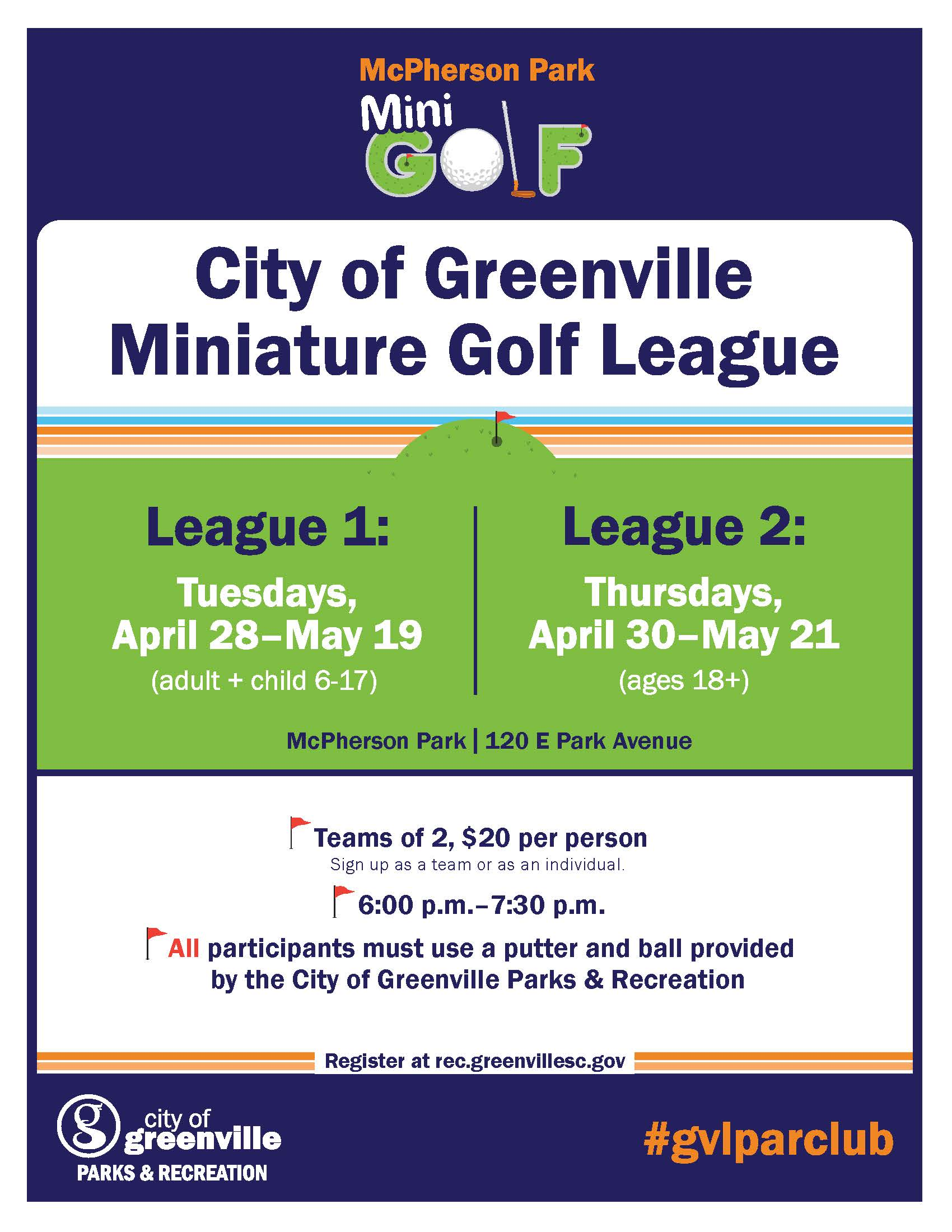 minigolf-league-flyer April 2020