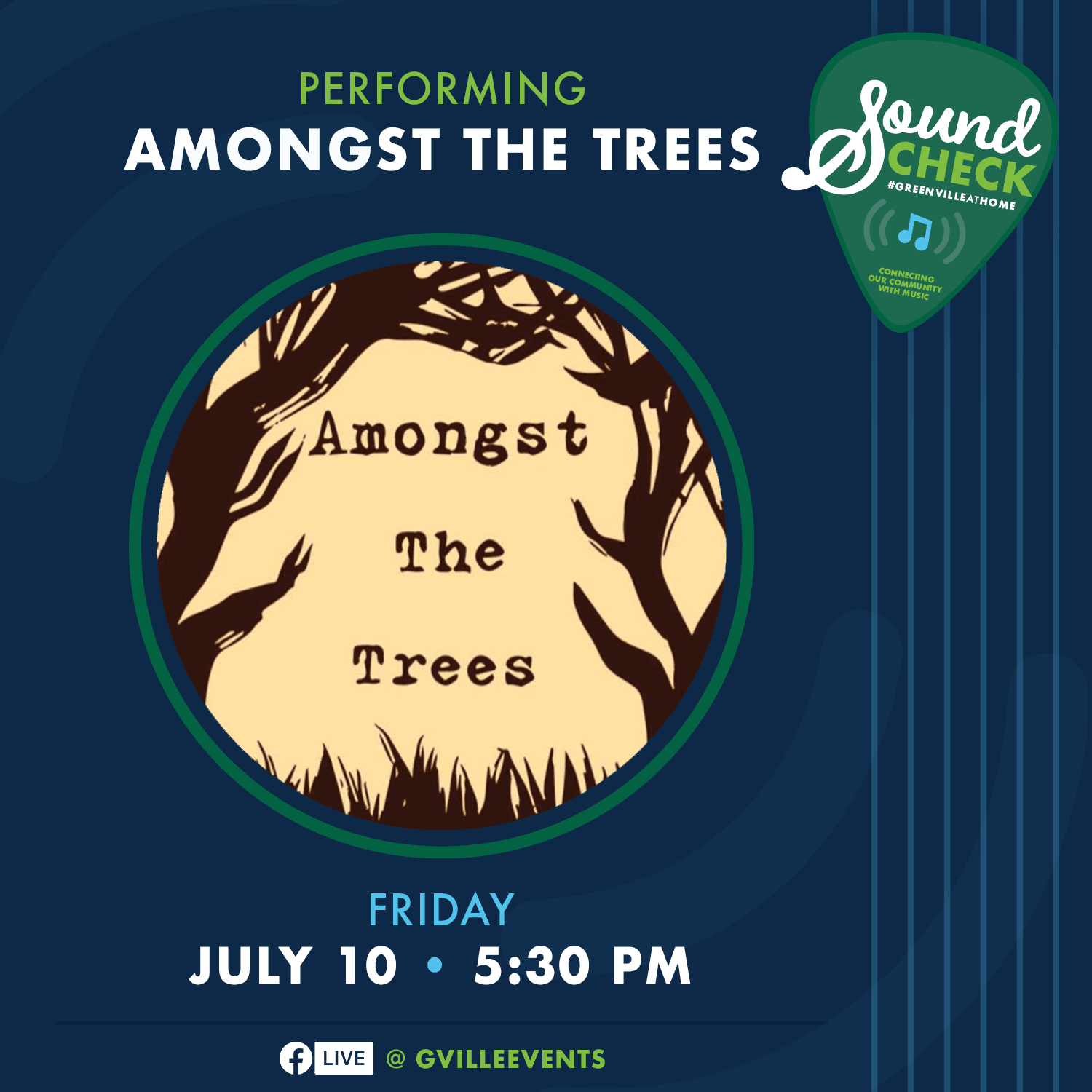 Amongst the Trees- July 10