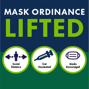 Graphic: Mask Ordinance Lifted