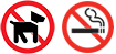 No Pets, No Smoking at all city special events.