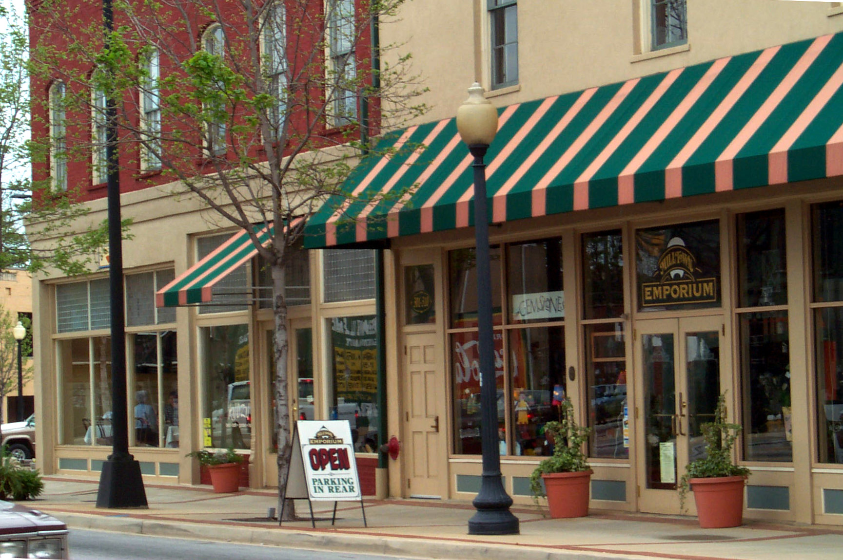 West End Historic District Downtown