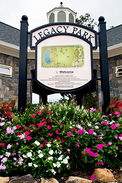 Entrance to Legacy Park