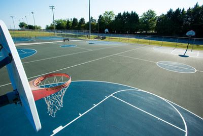 Gower Park basketball courts